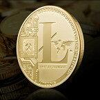 リテコイン記念コインコレクション仮想通貨ゴールド コインギフト