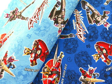 Character Fabric Masked Rider Zi-O Shark-Ox / Cotton 100% New for 2019 spring 布 生地 キャラクター生地 仮面ライダー ジオウ 仮面ライダージオウ