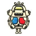 キャラクターワッペンかいじゅうステップ#47ジョーちゃん(キングジョー)アイロン接着2020年春向け最新柄入園用入学用の手作りグッズに。ウルトラマンウルトラセブンultramanうるとらまんultrasevenうるとらせぶん