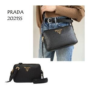 【2021春夏新作】PRADA(プラダ) 1BH082-2BBE-F0002 レザー ショルダーバッグ ブランド 定番人気【2021ss】