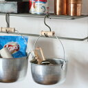 豆バケツ 掃除 S 木手 トタンバケツ 日本製 松野屋 6032の写真