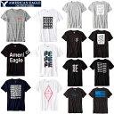 メール便 送料無料 アメリカンイーグル メンズ 半袖 Tシャツ グラフィック アップリケ tシャツ サイズ ホワイト ブラック ネイビー 人気 ブランド アメカジ カジュアル おしゃれ かっこいい かわいい 夏物