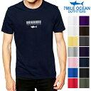 メール便 送料無料 7MILE OCEAN メンズ 半袖 Tシャツ プリント 人気ブランド ロゴ おもしろ アメカジ ストリート サメ シャーク 白 黒 グレー ネイビー S M L XL XXL 大きいサイズ 春夏物