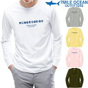 メール便 送料無料 7MILE OCEAN メンズ 長袖 tシャツ ロングTシャツ ロンT ブランド シンプル 人気 プリント ロゴ アメカジ S M L XL XXL 大きい ビッグサイズ対応 秋冬物