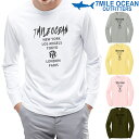 メール便 送料無料 7MILE OCEAN メンズ 長袖 tシャツ ロングTシャツ ロンT ストリート お洒落 人気 プリント ロゴ アメカジ S M L XL XXL 大きい ビッグサイズ対応 秋冬物