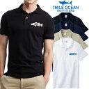メンズ 半袖 ポロシャツ 無地 ワンポイント 人気ブランド アメカジ 白 黒 グレー 紺 鹿の子 シーバス ルアー 魚 S M L XL XXL 大きい ビッグサイズ対応 夏物 クールビズ