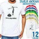 7MILE OCEAN Tシャツ メンズ 半袖 カットソー アメカジ おもしろ 爆笑 ネタ 個性的 うんこ うんち 人気ブランド アウトドア ストリート 大き目 大きいサイズ ビックサイズ対応 12色