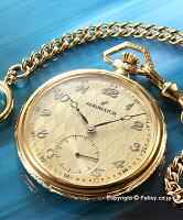 【AEROWATCH】アエロウォッチ懐中時計シャンパンゴールド/ゴールド50620J503