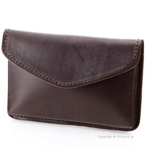 Glen Royal Card Case Business Card Holder GLENROYAL 03-3682 HAVANA Leather Business Card Holder