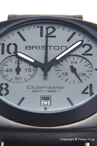 BRISTON ブリストン 腕時計 Clubmaster Classic Chronograph (クラブマスター クラシック クロノグラフ) ヴィンテージガンメタル 15140.SPG.C.12.LVB 【あす楽】