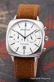 ブリストン BRISTON 腕時計 Clubmaster Vintage Chronograph (クラブマスター ヴィンテージ クロノグラフ) ホワイトシルバー 16140.S.V.2.LFCA 【あす楽】