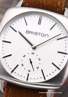 ブリストンBRISTON腕時計ClubmasterVintageSmallsecond(クラブマスターヴィンテージスモールセコンド)ホワイトシルバー16440.S.V.2.LFCA【】