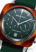 ブリストンBRISTON腕時計ClubmasterVintageChronograph17140.SA.TV.16.NBG【あす楽】