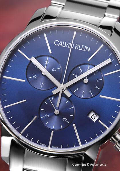 カルバンクライン 時計 メンズ Calvin Klein 腕時計 Ck City Chronograph K2G2714N 【あす楽】