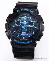 カシオ腕時計G-SHOCK(ジーショック)GA-100CB-1A(海外モデル)