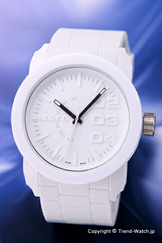 ディーゼル DIESEL 腕時計 メンズ フランチャイズ オールホワイト DZ1436