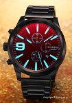 【DIESEL】ディーゼル腕時計RaspChrono(ラスプクロノ)ブラックポラライザーDZ4447