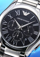 エンポリオアルマーニEMPORIOARMANI腕時計ValenteChronographCollectionAR11083【あす楽】
