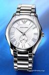【EMPORIOARMANI】エンポリオ・アルマーニ腕時計ValenteCollection(バレンテコレクション)シルバーAR11084