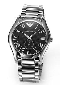 【EMPORIOARMANI】エンポリオ・アルマーニ腕時計ValenteCollection(バレンテコレクション)ブラックAR11086
