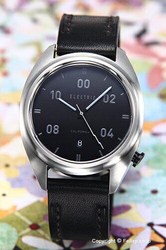 腕時計, メンズ腕時計  ELECTRIC OW01 LEATHER BLACK
