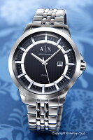 【ArmaniExchange】アルマーニエクスチェンジ腕時計Smart(スマート)ブラックAX2260