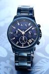 【ArmaniExchange】アルマーニエクスチェンジ腕時計OuterBanksChronograph(アウターバンクスクロノグラフ)オールネイビーブルーAX4337