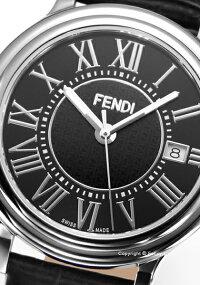 フェンディ時計FENDIメンズ腕時計ClassicoRoundF256011011