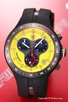 【SCUDERIAFERRARI】スクーデリア・フェラーリ腕時計Jumbo150thAnniversaryChronograph(ジャンボ150周年記念クロノグラフ)イエローFE-06-YW