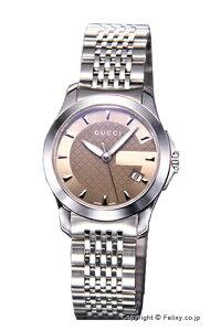 【GUCCI】グッチ腕時計G-TimelessCollection(G-タイムレスコレクション)SS/ブラウンYA126503