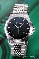 【GUCCI】グッチ腕時計G-TimelessCollection(G-タイムレスコレクション)SS/ブラックYA126402