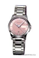 【GUCCI】グッチ腕時計G-TimelessCollection(G-タイムレスコレクション)ピンクスモールバージョンYA126524