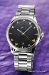 【GUCCI】グッチ腕時計G-TimelessCollectionSignature(G-タイムレスコレクションシグネチャー)ブラックYA1264029