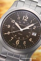 ハミルトンHAMILTON腕時計KhakiField(カーキフィールド)ブラウンH68201193【】