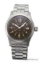 【HAMILTON】ハミルトン腕時計KhakiField(カーキフィールド)ブラウンH68201193