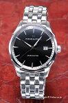 【HAMILTON】ハミルトン腕時計JazzmasterGent(ジャズマスタージェント)ブラックH32451131