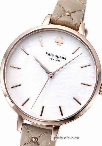 ケイトスペード 時計 レディース KATE SPADE 腕時計 Metro Stud Quilted KSW1470 【あす楽】