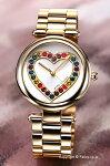 【MARCJACOBS】マークジェイコブス腕時計DottyRainbow(ドッティレインボー)シルバー×ゴールド(レインボー)レディースMJ3544
