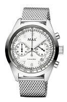 【MAXXLWATCHES】マックス腕時計TheChronoMAX(ザクロノマックス)シルバー5-MAX664