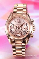 【MICHAELKORS】マイケルコース腕時計BradshawChronographMini(ブラッドショークロノグラフミニ)ローズゴールドMK5799