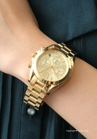 MICHAELKORSマイケルコースレディース腕時計MK5798BradshawChronographMini(ブラッドショークロノグラフミニ)ゴールド【あす楽】