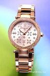 【MICHAELKORS】マイケルコース腕時計MiniParkerFloral(ミニパーカーフローラル)ローズゴールド(クリスタル)MK6470