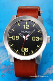ニクソン 腕時計 NIXON Corporal (コーポラル) Black / Brown (ブラック/ブラウン) A243019 【あす楽】