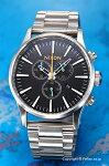 【NIXON】ニクソン腕時計SentryChrono(センチュリークロノ)Black/Multi(ブラック/マルチ)A3862336