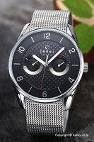オバク腕時計メンズOBAKUV171GMCBMCデイデイト