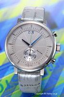 【PAULSMITH】ポールスミス腕時計ChilternChronograph(チルターンクロノグラフ)ライトグレー/シルバーレザーストラップBS7-013-90