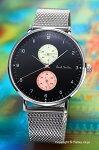 ポールスミス腕時計メンズPaulsmithTrackDesign(トラックデザイン)ブラックPS0070006