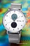 ポールスミス腕時計メンズPaulsmithTrackDesign(トラックデザイン)ホワイトPS0070007