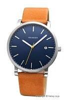【SKAGEN】スカーゲン腕時計Hagen(ハーゲン)ブルー/ナチュラルストラップSKW6279