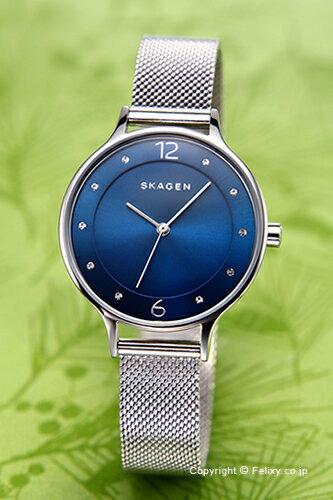 スカーゲン 腕時計 SKAGEN アニタ ブルー SKW2307